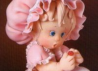 polymer clay babies & things / by Becky Jones