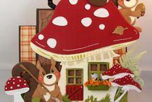 Mushroom cards