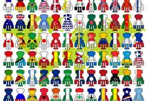 Yang Toys - National Flags