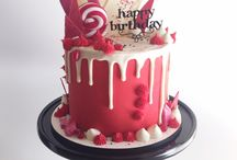 Drippy lolly cake