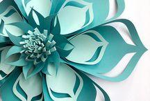 flores origami
