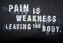 no pain, no gain / by Kait Utermark
