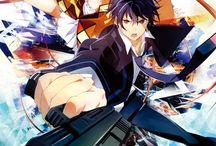 Black Bullet ブラック・ブレット / My favorite Action Anime/Light Novel series.