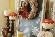 Fall decor / by Heather Jensen