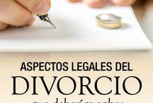REPERCUSIONES DEL DIVORCIO / El divorcio es la disolución legal del vinculo matrimonial que compromete a los miembros de la familia, implica un cambio y sus efectos producen diversas reacciones.