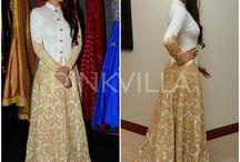 Indian wearing