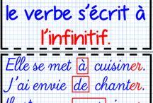 Orthographe /grammaire / conjugaison