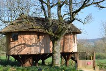 Deer Park Hotel visit / Writing work found me staying in the Deer Park Hotel's marvellous treehouse