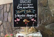 Boda decoración / Ambientación boda