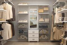 Closet dos sonhos / Criando e organizando closets para casa.