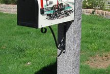 Granite Lamp Posts, Mailbox Posts, and Fence Posts / From lighting your driveway or creating a rustic fence line, to grand entrance pillars, granite posts elevate the look of a property. If you need a post for your mailbox or pillars for a public park, we can produce your custom project on budget, and on time.