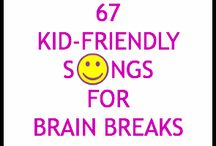 First Grade Brain breaks