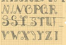 Fonts/handwriting/signs / by Hannah Pacelli