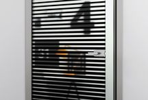 Printed glass doors / New ways to decorate | Glass doors with prints