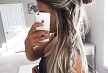 grey/blonde long