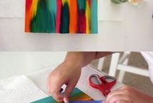 Creatief met verf