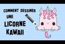 Licorne kawaii