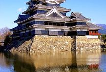 Matsumoto Castle / Matsumoto Castle is one of only twelve castle with extant main keep. In 1952 it was designated National Treasure of Japan. Now there are only five castles with such high status.