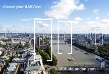 See London differently at Altitude / Altitude London lets you see London differently.  get the #AltView at your events!