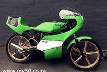 Kawasaki AR50 Race Bike / Kawasaki AR 50 Race Bikes