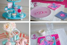 Pink & Blue Party Inspiration!