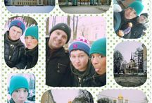 my friends and me. Russia, Saint-Petersburg
