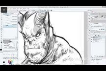 Drawing videos & tutorials / My speed drawing / painting videos