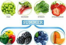 Szezonális gyümölcsök, zöldségek