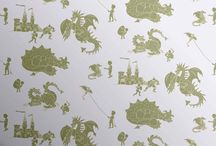 Kid's Dinosaur Bedroom Ideas / A board full of ideas for making the perfect kids dinosaur/dragon themed bedroom.