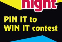 College Night Pin it to win it contest / by Courtney Scott