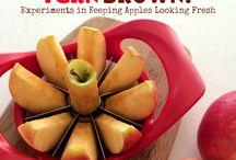 Little Explorers: Week 3 / Letter: A Theme: apple, sin  / by Ligia Boyd