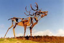 Metal sculptures