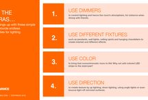 A recipe for good lighting / If you want to get out more from good lighting, look no further for enlightement: our cheat-sheet shows you how!