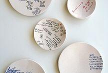 Clay Kids Plates