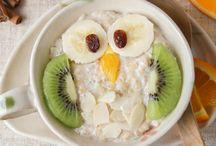 Frühstück für Kinder / Lustige Frühstückideen für Kinder.