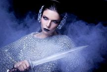 Warrior / Warrior Photo: Csaba J. Almási Styling & conception: Gabriella Parádi Make up: Rita Horváth Modell: Saba Anwar