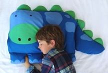 Kids pillows & tooth fairy pillows / by Shelley Ridgley