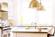 Kitchen Lighting Inspiration / Struggling to find ideas for your kitchen lighting? Check out these images that will surely inspire you! / by Cornerstone Builders
