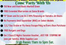 Events! / Events at BMC Boats