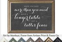 ~ Chalkboard printables
