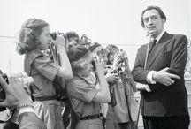 Fotos de Salvador Dalí.