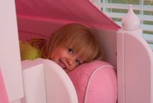 Fun Toddler Beds / Build the perfect toddler bedroom! Start with the basic furniture & add on!