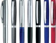 Bolígrafos con sello incorporado / Escribir y sellar, todo en uno.