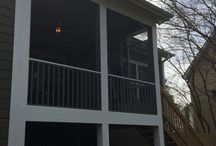 Screenporch ideas / Projects we have built