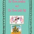 """Language Arts: Three Little Pigs / Visual and/or Kinesthic lessons to learn about the story """"The Three Little Pigs"""""""
