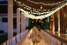 Wedding table design / by Gillian Morgan