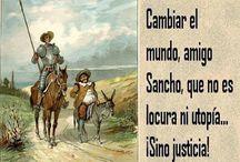Don Quijote de la Mancha. Frases