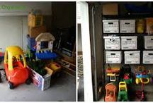 Back To School Organizing / It's time to get those kiddos back to school. What better use of your time, then organizing all of that stuff around the house.