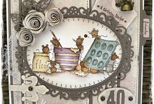 LOTV - Mice / You are very welcome to repin any of the cards on our boards. Please do not repin any plain LOTV stamped images you may come across that do not have a watermark as it breaches our copyright. many thanks x / by Lili of the Valley Ltd