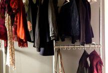 Garderobe steigerbuizen